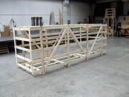 gabbie in legno per spedizioni
