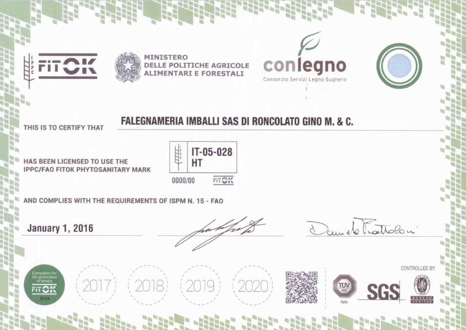 certificazione ISMP